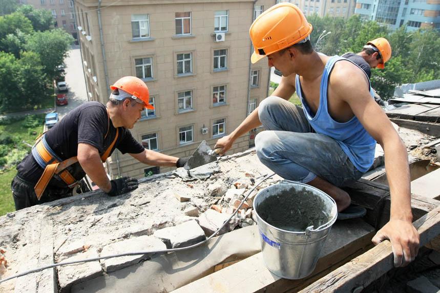 ремонт кровли многоквартирного дома